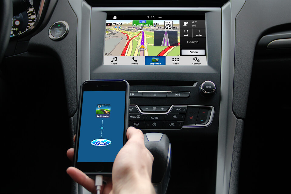 connect sygic car navigation with new ford's sync 3 - sygic
